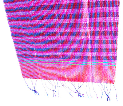 Carnet de Soie - Foulard en soie du Cambodge - Photo 2